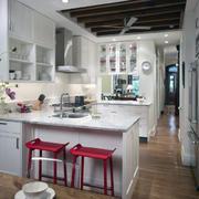 2016精美大户型欧式厨房橱柜装修效果图