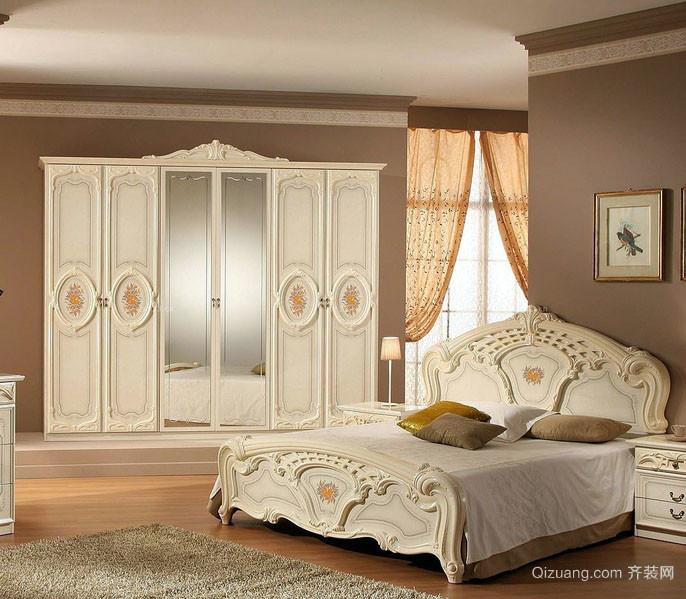 典雅风范:大卧室欧式衣柜设计效果图