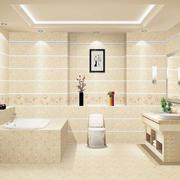 2016唯美欧式风格洗手间吊顶装修效果图鉴赏