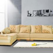 黄色沙发设计图