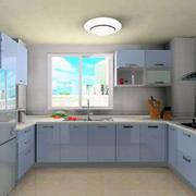 都市大户型欧式风格厨房吊顶装修效果图
