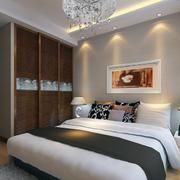2016大户型欧式现代家装卧室装修效果图
