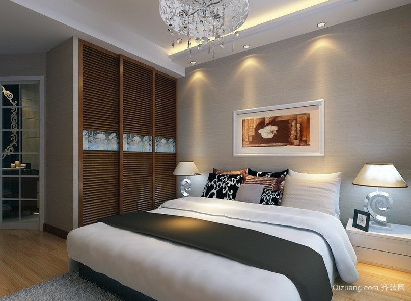 范 大卧室欧式衣柜设计效果图