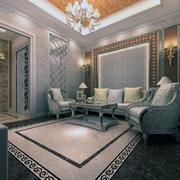 现代地板设计图