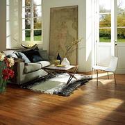 温馨舒适客厅地板展示