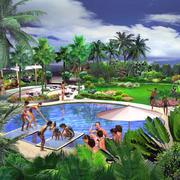 唯美的游泳池设计