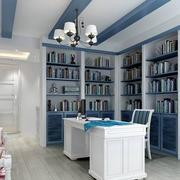 书房转角书柜展示