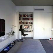 卧室隐形小书房