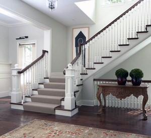 精美的欧式室内楼梯设计装修效果图鉴赏