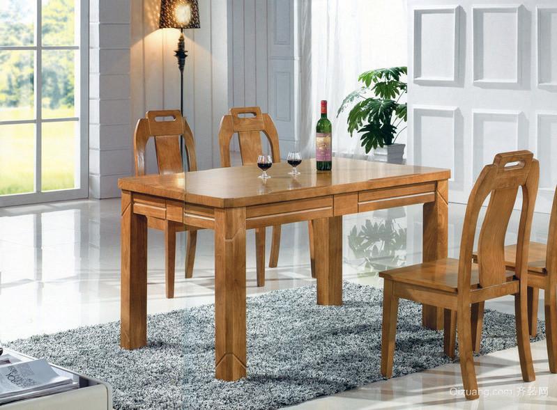 欧式风格室内家庭餐桌椅装修效果图鉴赏