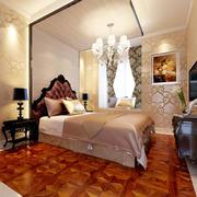 家居卧室个性实木地板