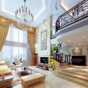 唯美的楼梯扶手设计