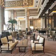 2016大气朴素商务酒店咖啡厅装修效果图