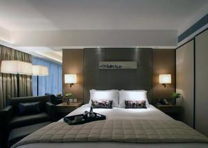 大户型欧式室内卧室台灯设计装修效果图
