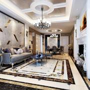 家居客厅瓷砖地板贴图