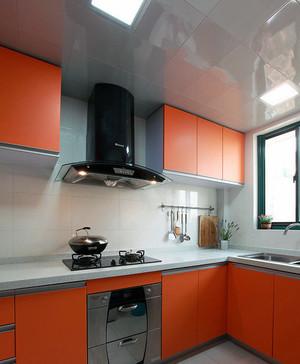 90平米大户型欧式室内装修铝扣板效果贴图