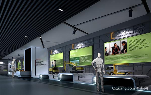 2016大都市各式展厅装修设计装修效果图