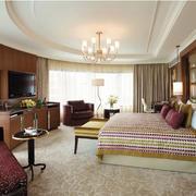 2016现代五星级商务酒店卧室装修效果图