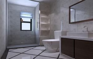 小户型欧式卫生间萨米特瓷砖背景墙装修效果图