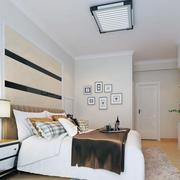 经典大户型欧式卧室软包背景墙装修效果图鉴赏