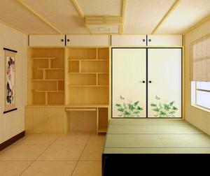 舒适大户型日式风格榻榻米装修效果图