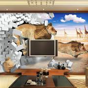 科技感十足的电视墙