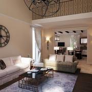 朴素客厅布艺沙发
