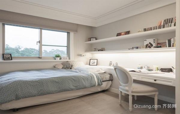 清爽现代化102平米家居小卧室设计效果图