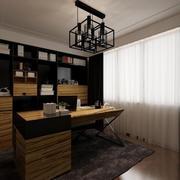 书房实木书桌欣赏