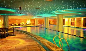 都市商务酒店室内游泳池装修图