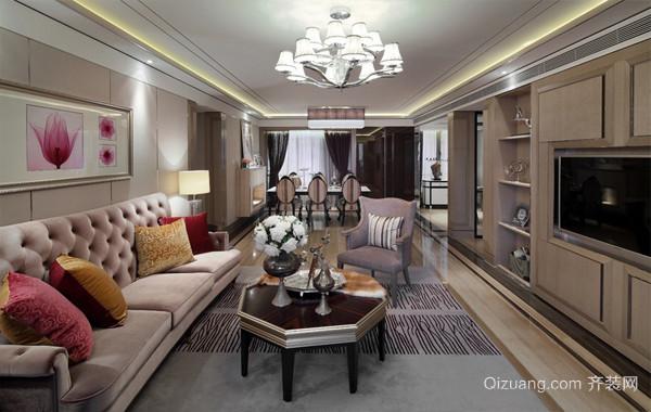 大户型别墅新古典家居装饰设计效果图