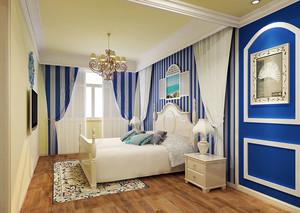 温柔似水:女性地中海风格小卧室装修图片