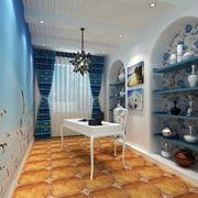 典型的地中海书房