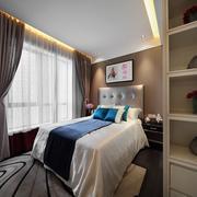 家居卧室床展示
