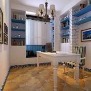 书房精致地板贴图欣赏