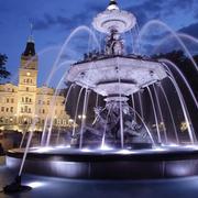 古典欧式范儿喷泉