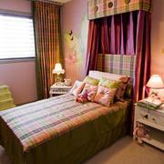 田园风情小户型家装卧室效果图片