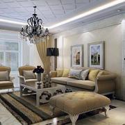 现代沙发背景墙图