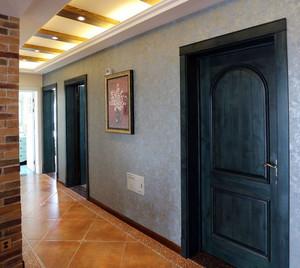 2016两室一厅美式混搭乡村风格装修效果图