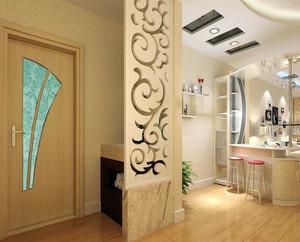 宜家方便的大户型进门玄关鞋柜效果图