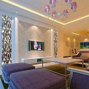客厅水晶灯设计图
