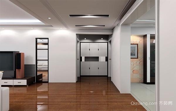 90平米大户型唯美欧式客厅玄关装修效果图鉴赏