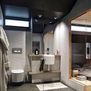 公寓卫生间洗手台展示