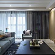 公寓简约现代窗帘欣赏