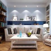 都市55平米小户型家装客厅装修图片