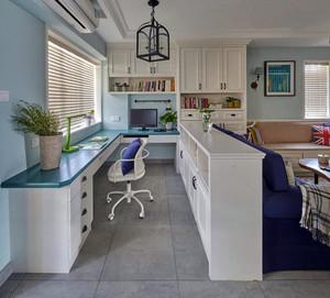 休闲安逸:99平米家居现代装修设计图