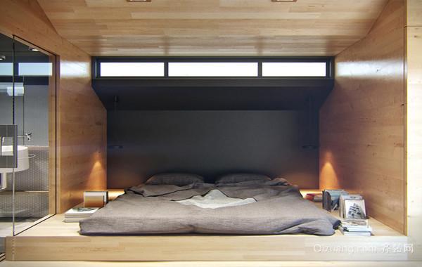 个性与魅力:现代超小单身汉公寓效果图