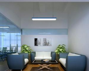 都市时尚办公室简约小洽谈室装修设计图