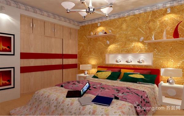 精美欧式小户型卧室背景墙装修效果图实例