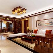 大方的客厅整体设计
